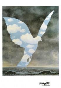 entrando no clima de Magritte