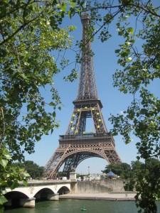 La Tour Eiffel (homenageando a União Européia)