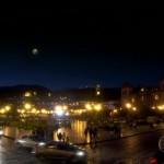 A Plaza de Armas de Cuzco ganha uma cena noturna