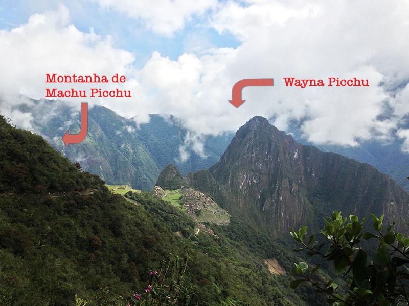 Montanha de Machu Picchu X Wayna Picchu