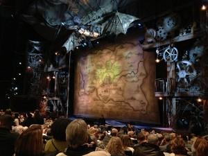 Wicked antes da peça começar
