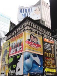 Cartazes da Broadway