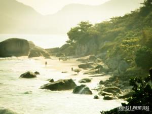 Praia de Abricó.