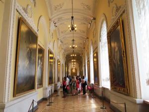 Um corredor do Hermitage