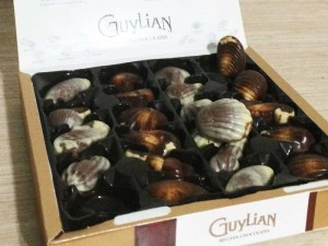Chocolate belga Guylian