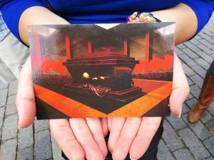Cartão postal do Mausoléu de Lenin