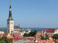 Vista Panorâmica de Tallinn