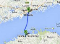 De Tallinn para Helsinki