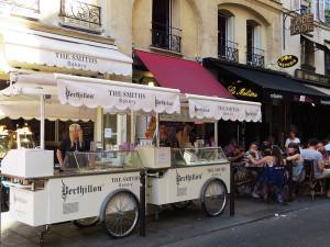 O melhor sorvete de Paris!