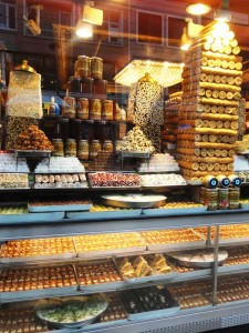 Loja de doces em Istambul