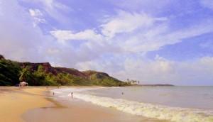 Praia do Coqueirinho.
