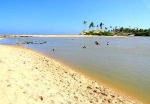 Barra do Itariri.