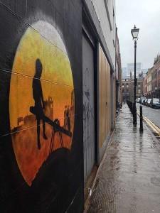 Grafitagem no Leste de Londres