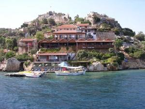 Passeio de Barco na Turquia.