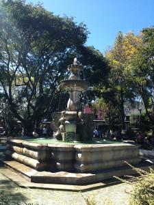 Praça principal de Antigua