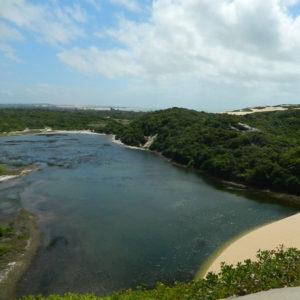 Praia de Genipabu.