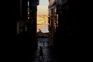 As ruas de Malta