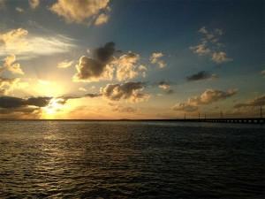 Pôr do Sol nas Ilhas Keys