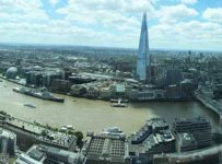 vista do Sky Garden (Londres)