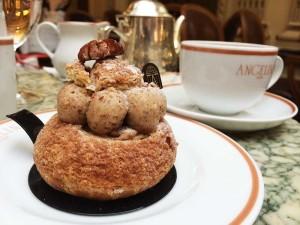 Doce Paris-New York do Salão de Chá Angelina