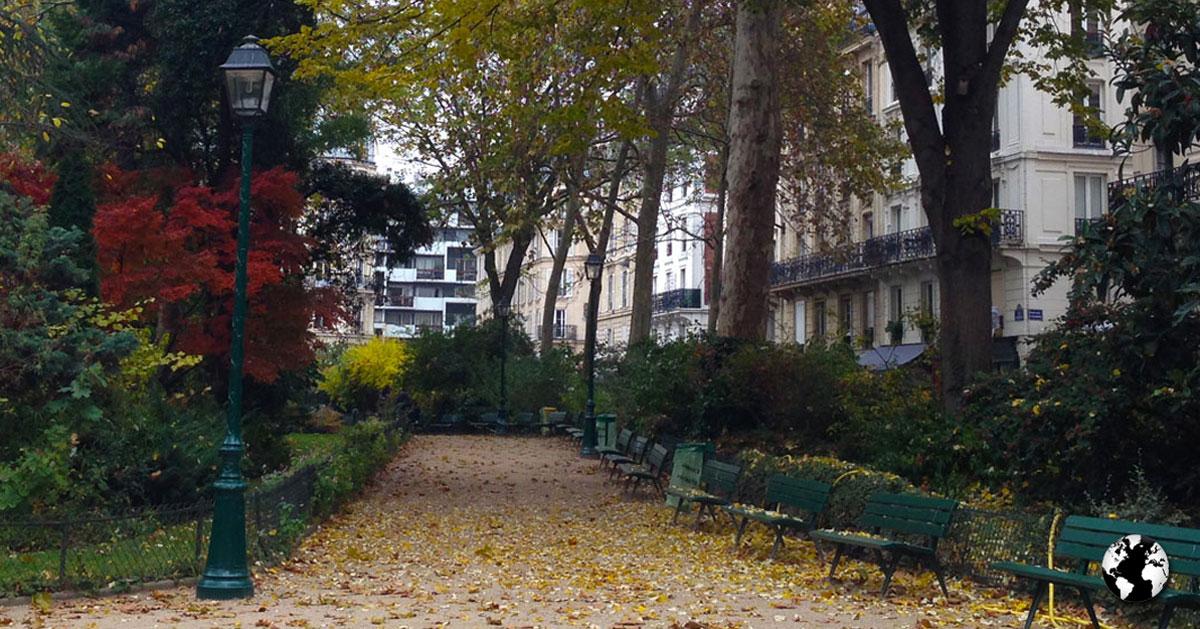 Outono em Paris.