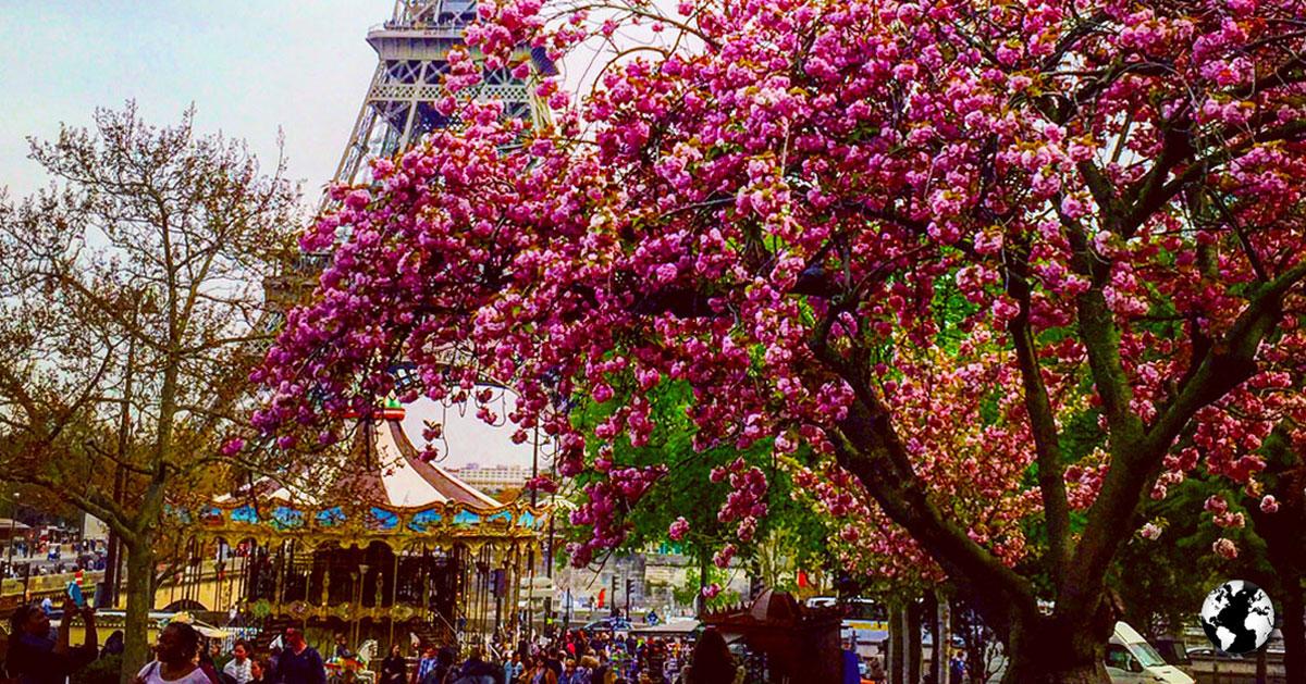 Primavera em Paris.