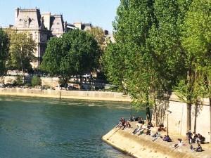 Verão em Paris