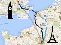 Como ir de Paris para Londres