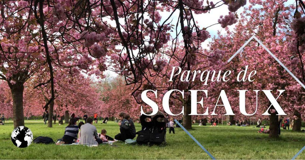 Parque de Sceaux e as cerejeiras japonesas