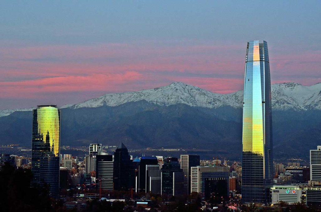 Sky Costanera (Santiago, Chile) by Javier Vieras