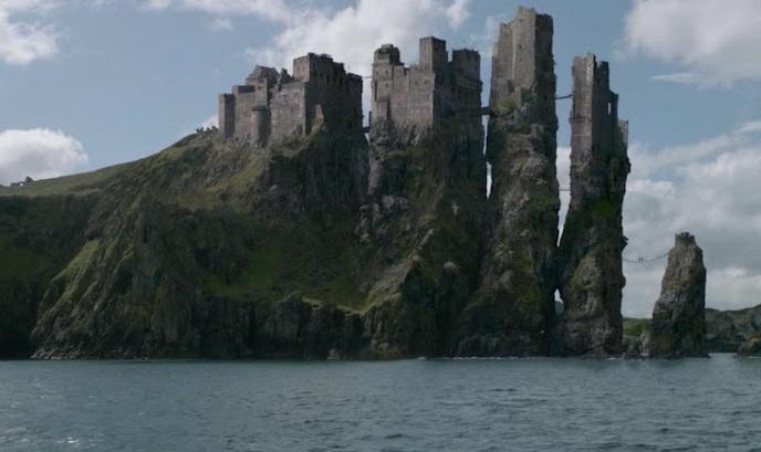 Castelo de Dunluce, ou melhor, Pyke