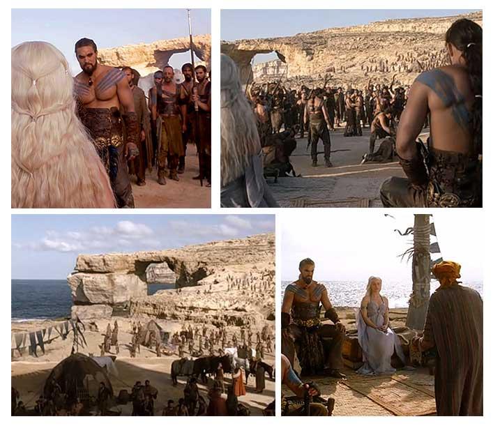 Festa de arromba dos Dothraki só acontece em Malta