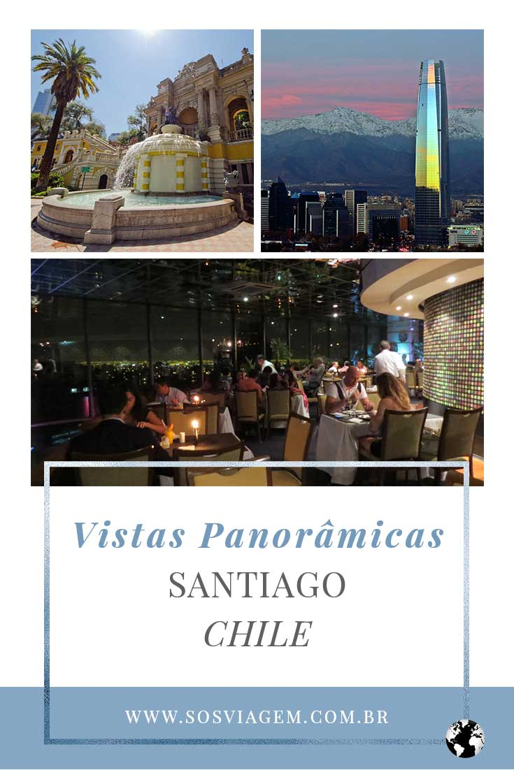 Quem adora vistas panorâmicas vai adorar conhecer os três mirantes de Santiago (Chile) que não podem faltar no seu roteiro de viagem.
