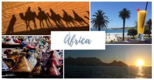 Natureza e grandes cidades, safaris e vinhedos, muitas aventuras... Vem descobrir a África!