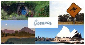 Todas as nossas postagens sobre a Oceania