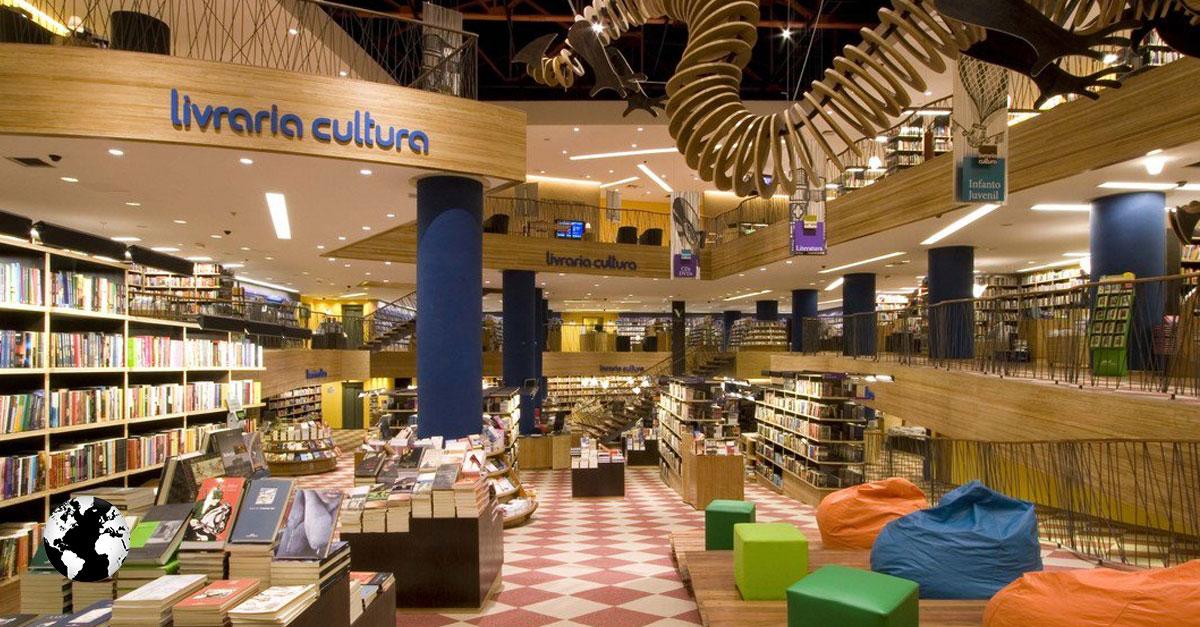 Livraria Cultura, São Paulo, Brasil.
