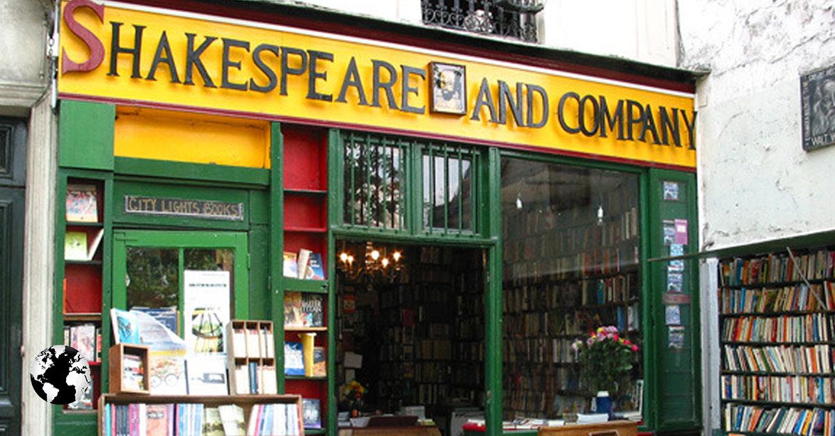 Shakespeare & Company, Paris, França.
