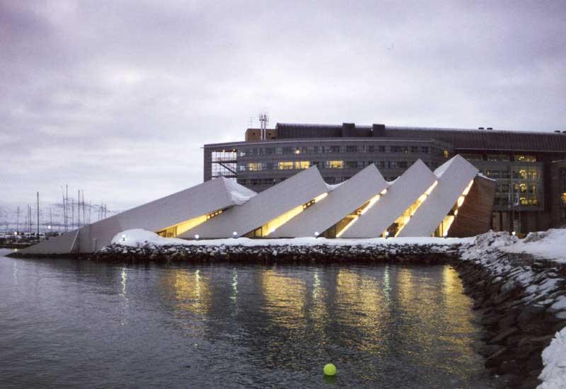 Polaria em Tromso, Noruega