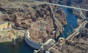 Represa Hoover Dam.