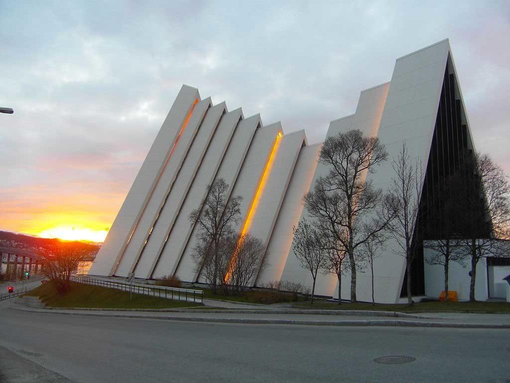Catedral do Ártico em Tromso, Noruega