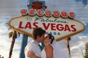 Casar em Las Vegas.