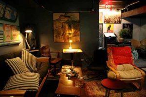 Clube de jazz em Nova York.