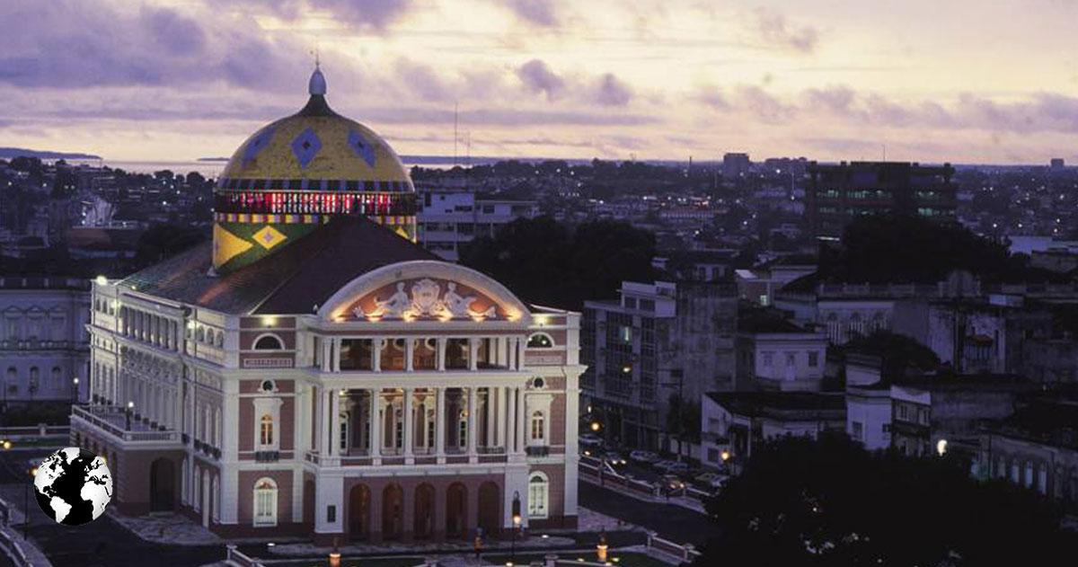 Teatro Amazonas, Manaus, Amazonas, Brasil.