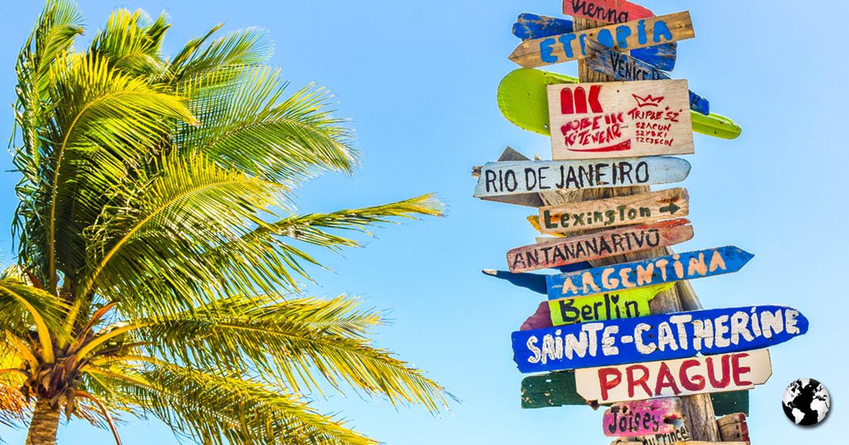 O melhor presente para um viajante é, sem dúvidas, uma viagem.