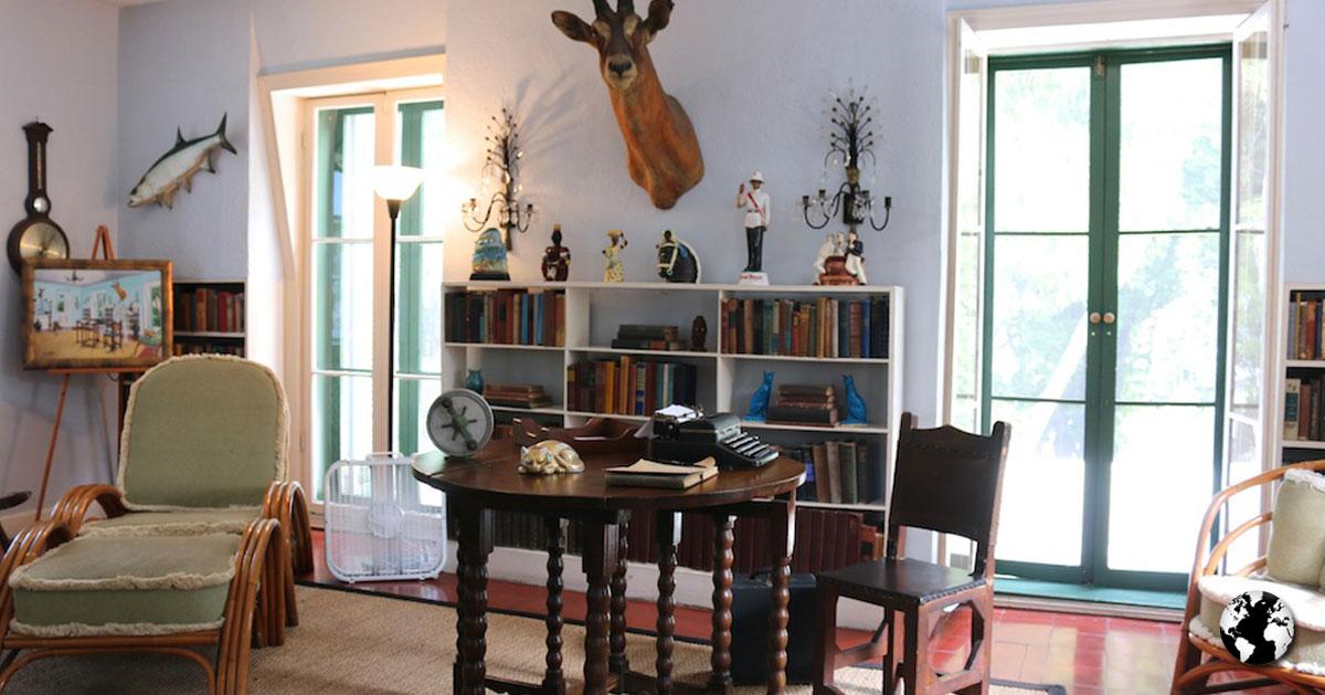 A Casa de Ernest Hemingway.