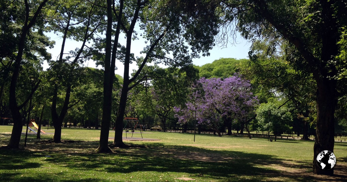 Seis parques em Buenos Aires