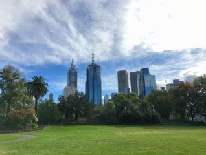 Skyline de Melbourne.