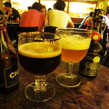 Cervejas belgas e as taças correspondentes!