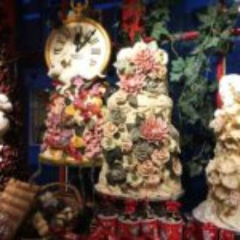 Alguns dos bolos da ChoccyWoccyDoodah