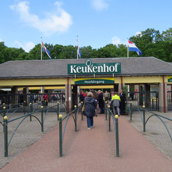 Entrada do Keukenhof (Holanda)
